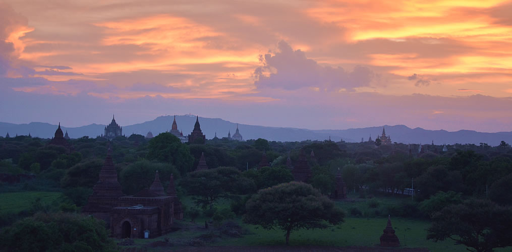 Bagan Plains Sunset - Myanmar